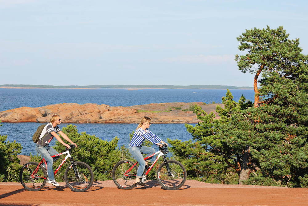 Cycling, Åland
