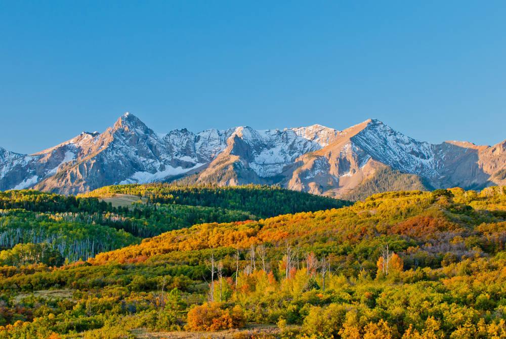Dallas Divide, Rocky Mountains, Colorado