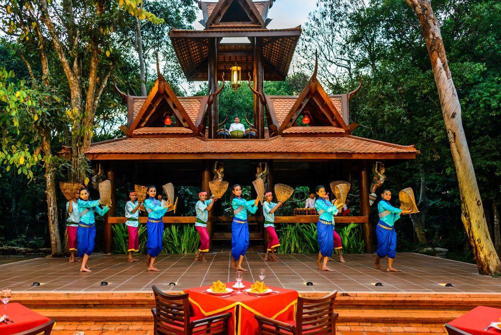 Dancers, Angkor Village, Cambodia