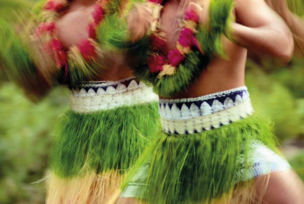 Traditional dancers, Fiji