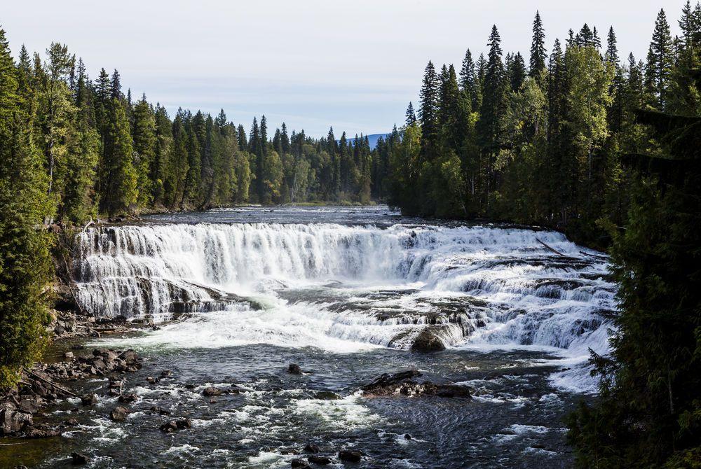 Dawson Falls, Wells Gray Provincial Park, British Columbia