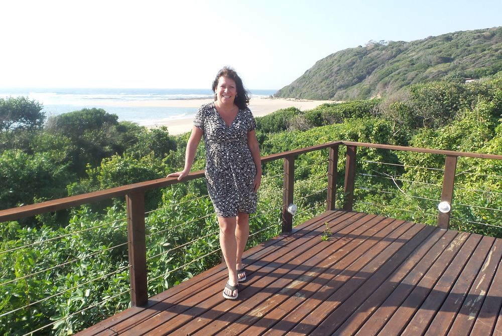 Debbie Mayger at White Pearl Resort, Mozambique