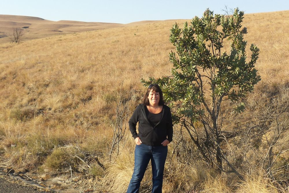 Debbie Mayger in South Africa