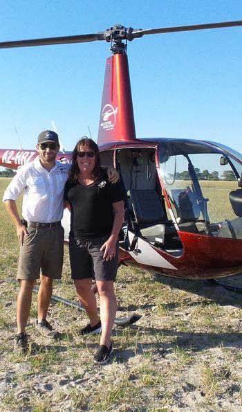 Helicopter, Botswana