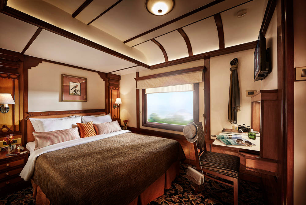 Presidential Suite Bedroom, Deccan Odyssey