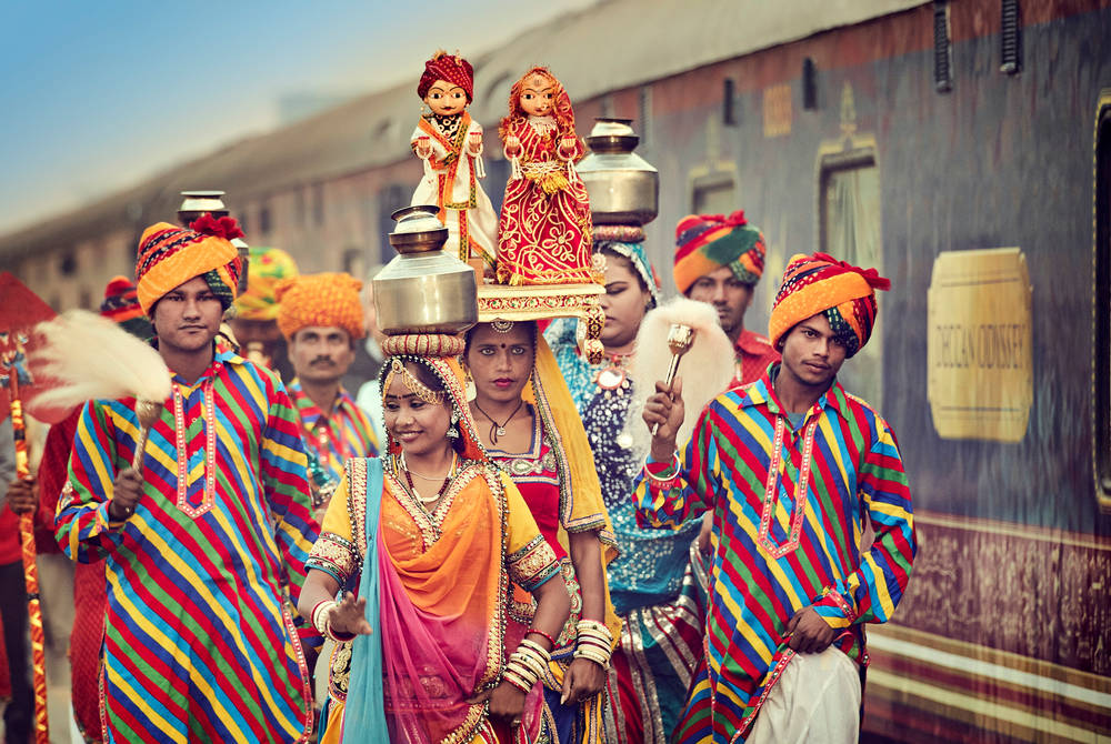 A welcome worthy of the Deccan Odyssey