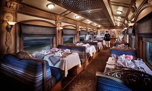 Deccan Odyssey Restaurant Car