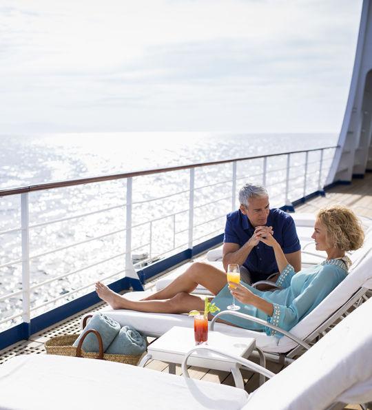 Deck Chairs, Seven Seas Voyager, Regent Seven Seas