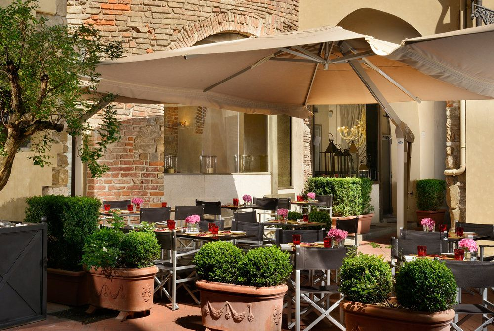 Dehor Tower Bar, Hotel Brunelleschi, Florence