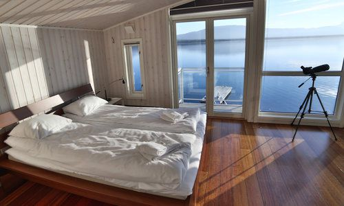 Deluxe Cabin, Malangen Brygger Resort, Norway