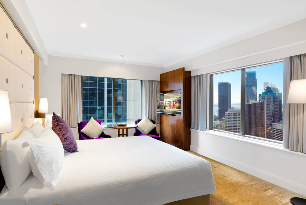 Deluxe Corner Room, Amora Hotel, Jamison Sydney