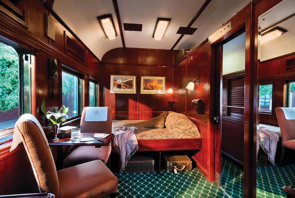 Deluxe Suite, Rovos Rail