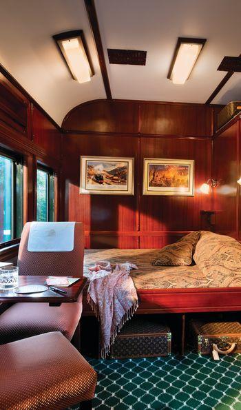 Rovos Rail Deluxe Suite