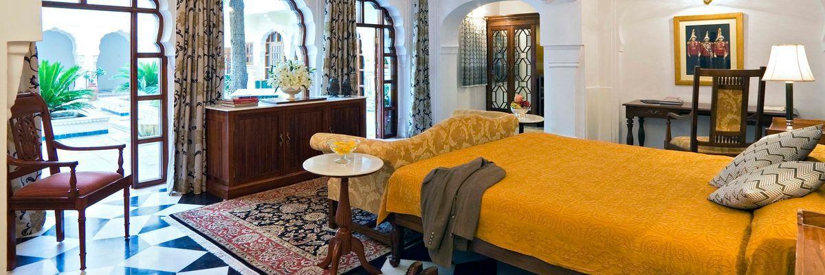 Deluxe Suite, Samode Haveli, Jaipur