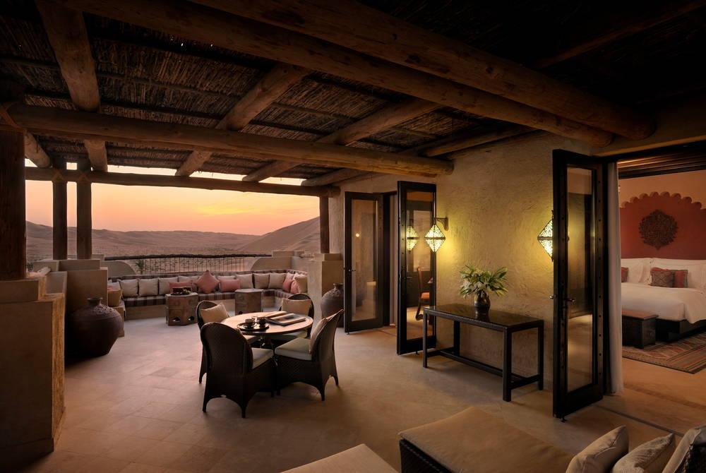 Deluxe Terrace Room, Anantara Qasr Al Sarab
