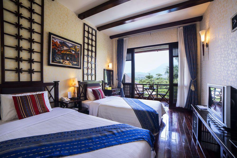 Deluxe Twin, Mai Chau Lodge