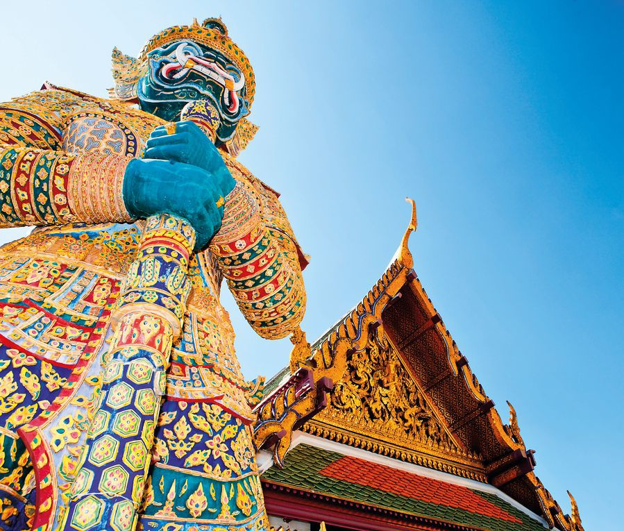 Demon Guardian, Grand Palace, Wat Phra Kaew, Bangkok