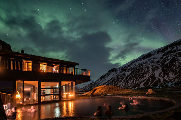 Deplar Farm luxury hotel in Iceland