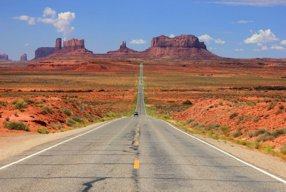 Desert Highway, Monument Valley