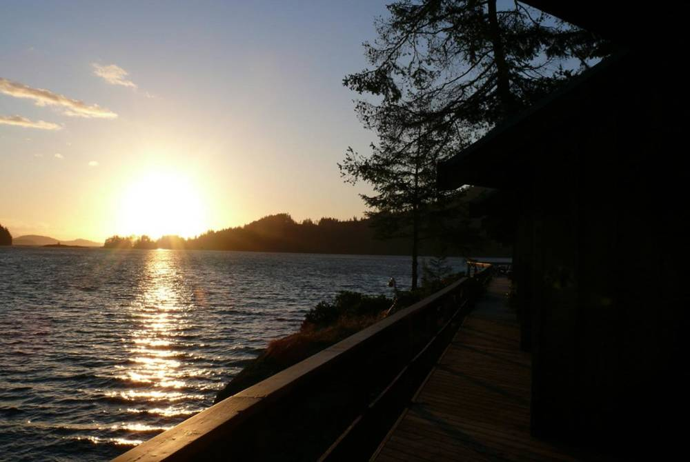 Sunset, Farewell Harbour Lodge, Berry Island