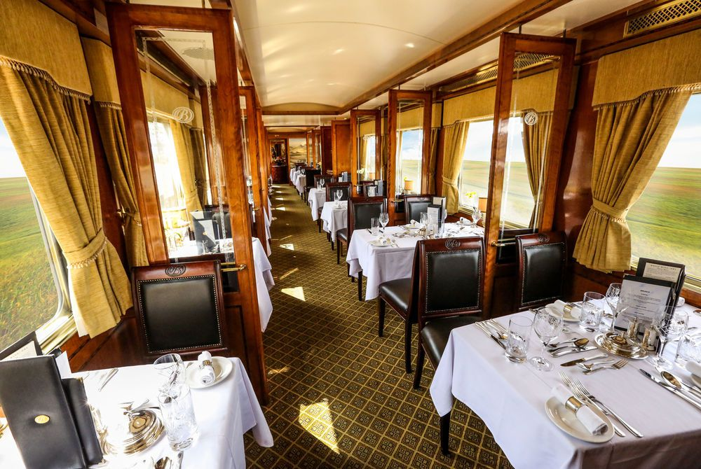Dining Car, Blue Train