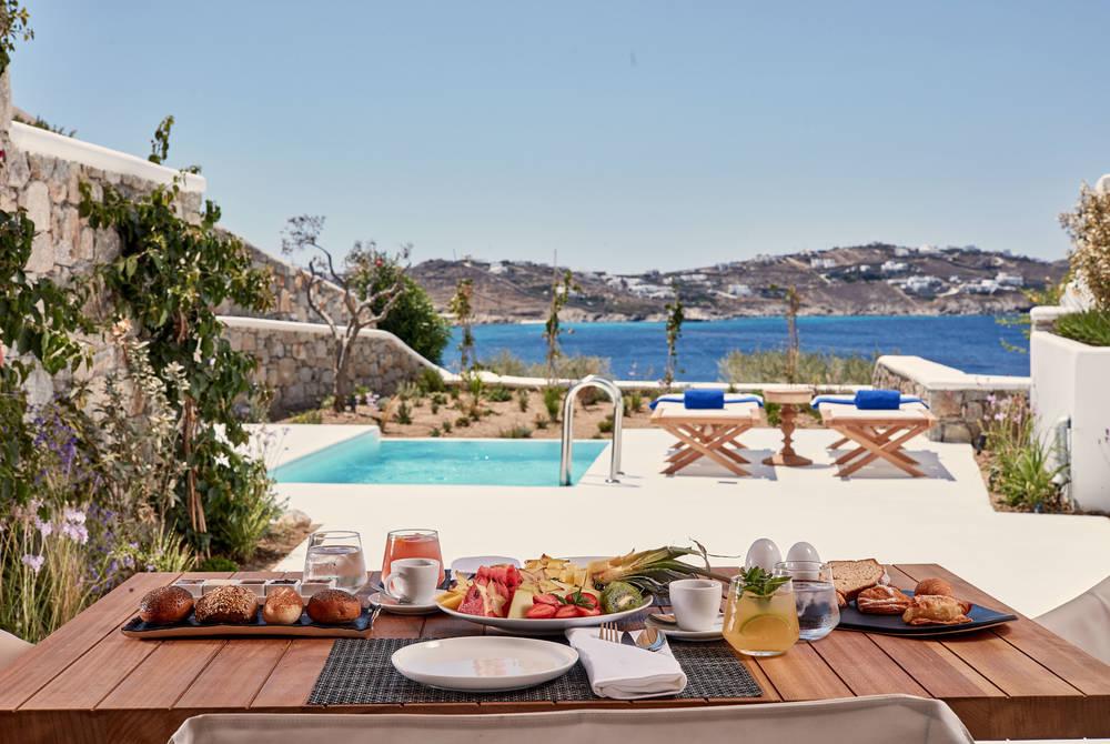 Dining, Katikies Mykonos