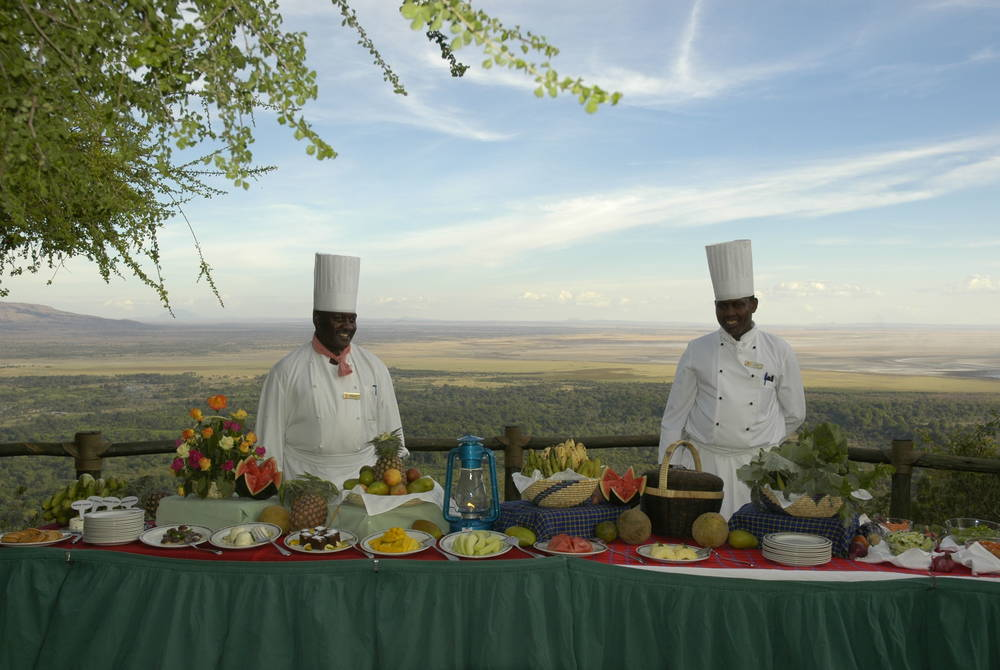 Dining, Lake Manyara Serena Safari Lodge