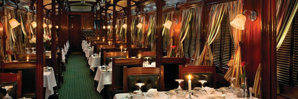 Dining Pillar, Rovos Rail