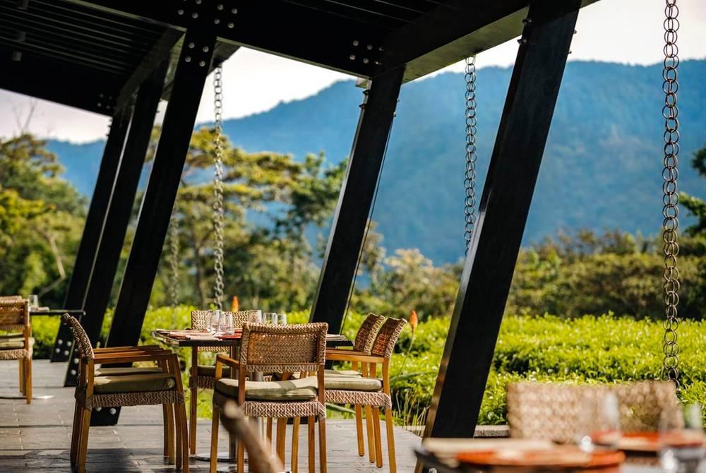 Dining Room Terrace, One & Only Nyungwe House, Rwanda