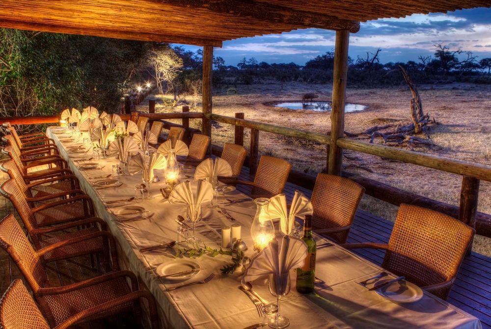 Dining, Savute Safari Lodge, Chobe National Park