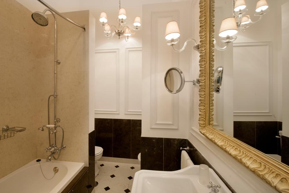 Diplomatic suite double bathroom, Tivoli Palácio de Seteais, Sintra