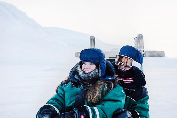 Winter excursion in Svalbard