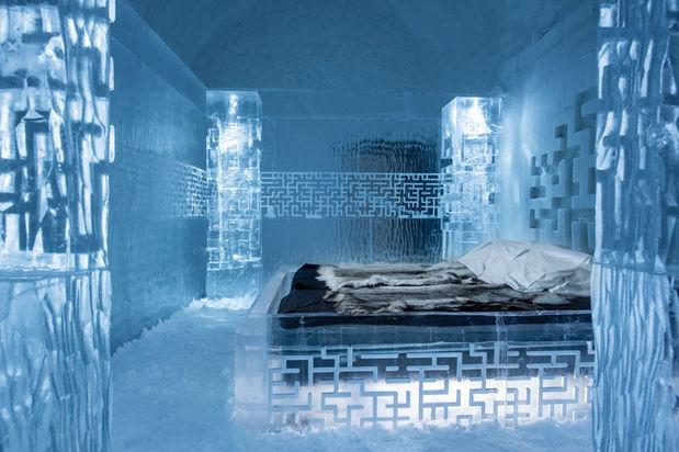 ICEHOTEL 365 Don't Get Lost Deluxe Suite in Sweden Lapland