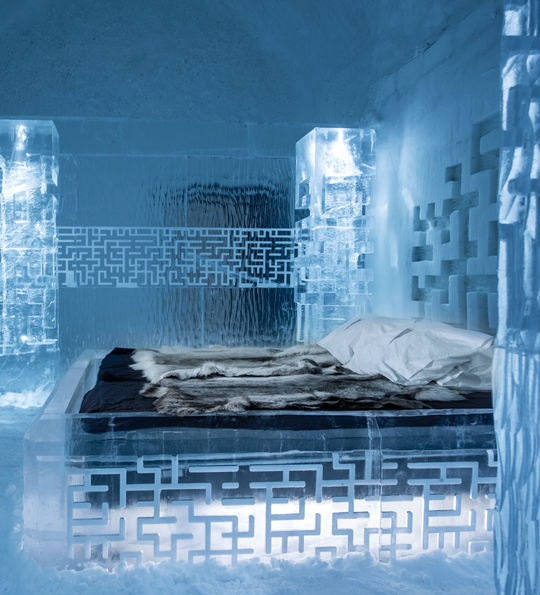 'Don't Get Lost' Art Suite, ICEHOTEL 365 (Credit: Asaf Kliger)