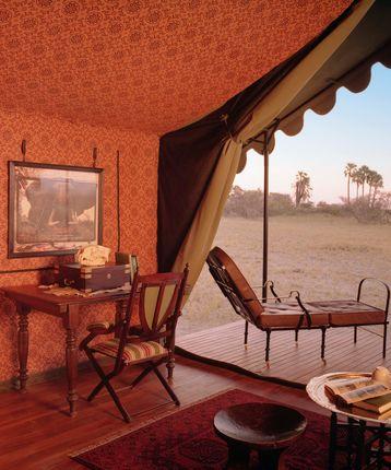 Dook guest tent, Jack's Camp