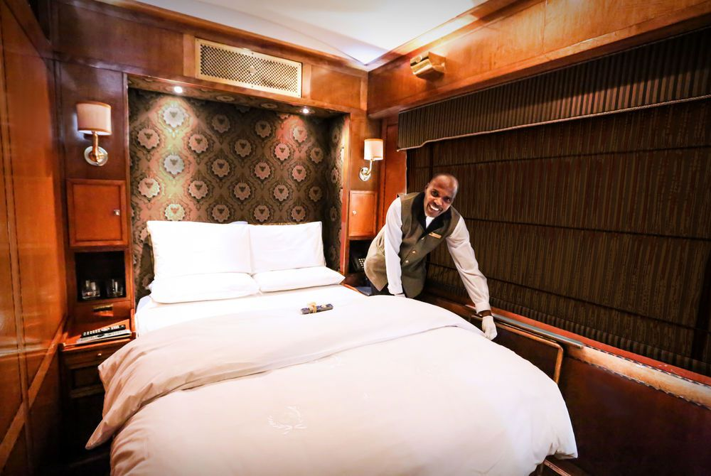 Double Bed, Blue Train