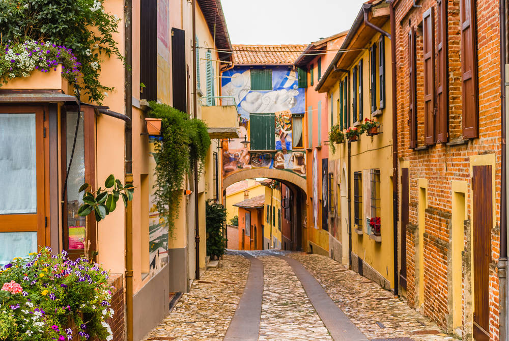 Dozza Village near Bologna, Italy