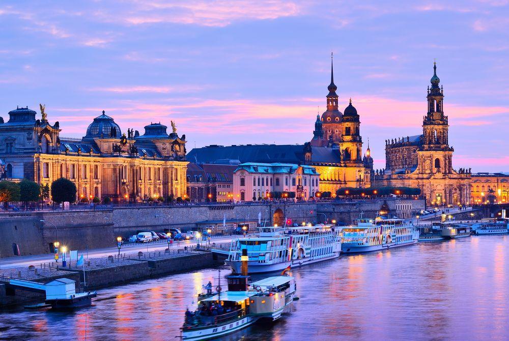 Dresden, Elbe River, Germany