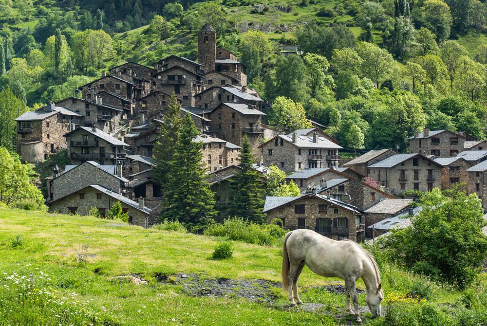 Dry-stone village