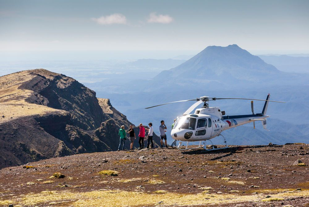 Dual Helicopter Volcano Landing