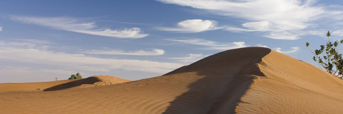 Sandunes near Dubai, Middle East