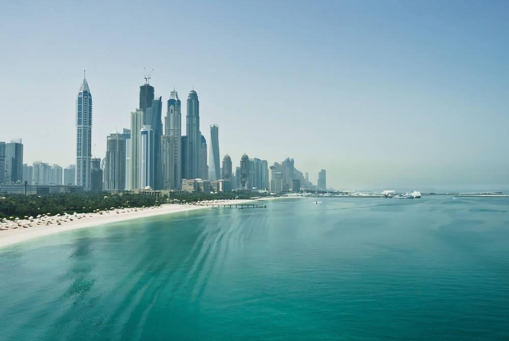 Dubai beach, UAE