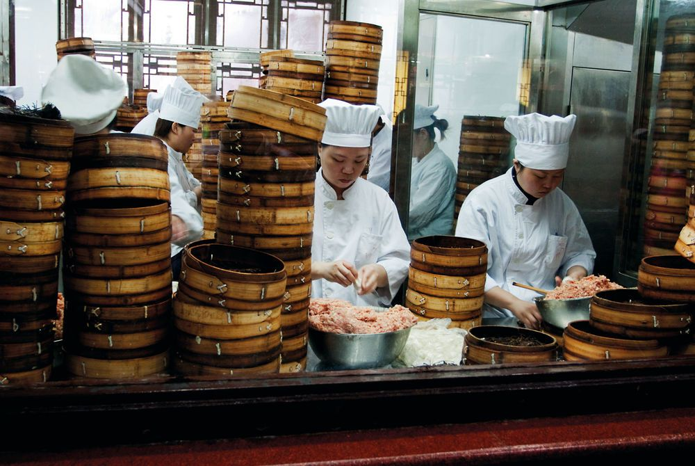 Dumpling Kitchen, Shanghai, China