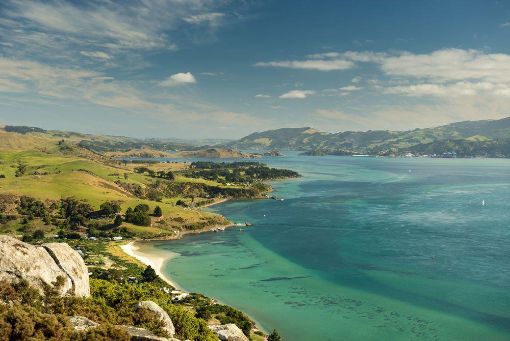 Dunedin beach, New Zealand