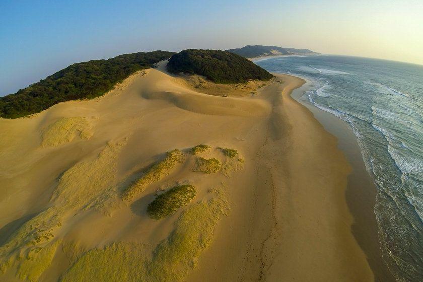 Sand Dunes, Thonga Beach Lodge, South Africa