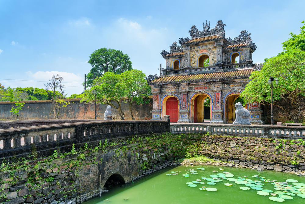 East Gate (Hien Nhon Gate) to the Citadel, Hue