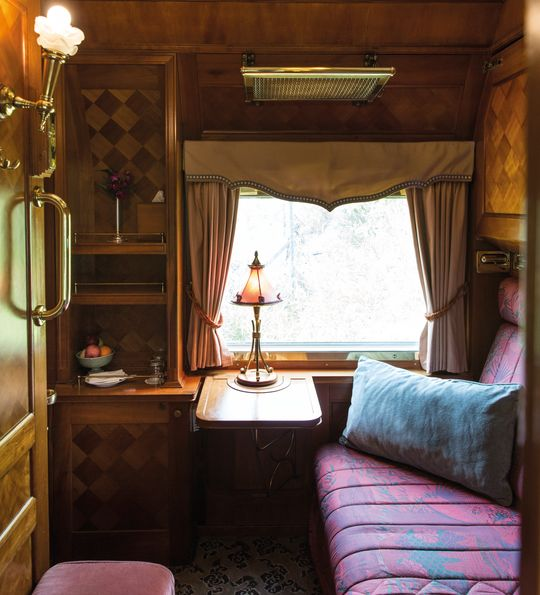 Private cabin, Eastern & Oriental Express