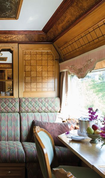 Presidential Cabin Eastern & Oriental Express