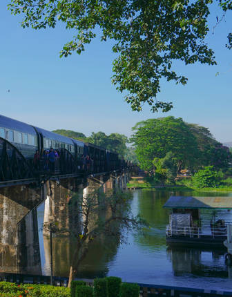 The Eastern & Oriental Express, Bridge on the River Kwai