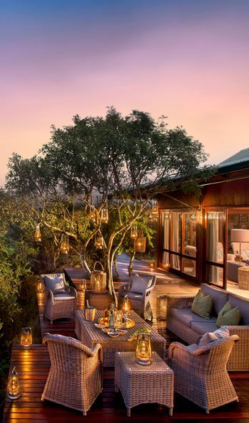 Ecca Lodge, Kwande Game Reserve in South Africa